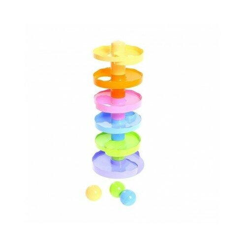 Развивающая игрушка Биплант Пирамидка Зайкина горка №2