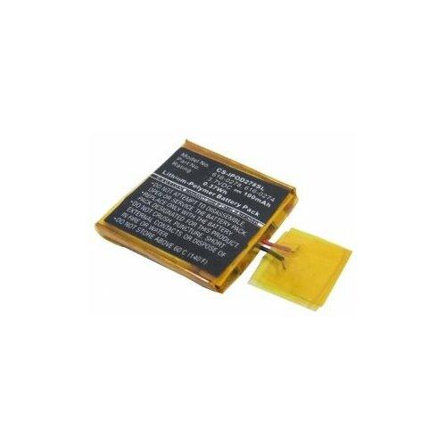Аккумуляторная батарея для mp3 плеера Apple iPod Shuffle 2G (616-0278)