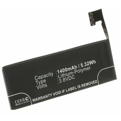 Аккумулятор iBatt iB-B1-M481 1400mAh для Apple 616-0613, 616-0610, 616-0611, LIS1491APPCS, 616-0612,