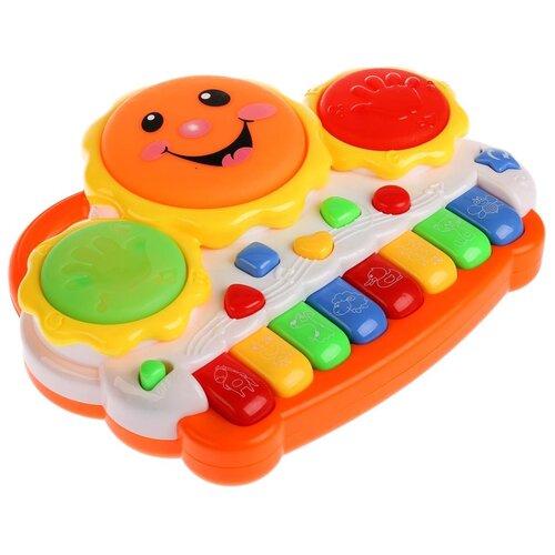 развивающая игрушка умка обучающее пианино м дружинина разноцветный Развивающая игрушка Умка Пианино (B1095960-R)