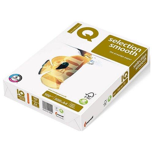 Фото - Бумага IQ Smooth А4, марка А+, 100 г/кв.м, (500 листов) бумага iq allround а4 марка в 80 г м2 500 листов