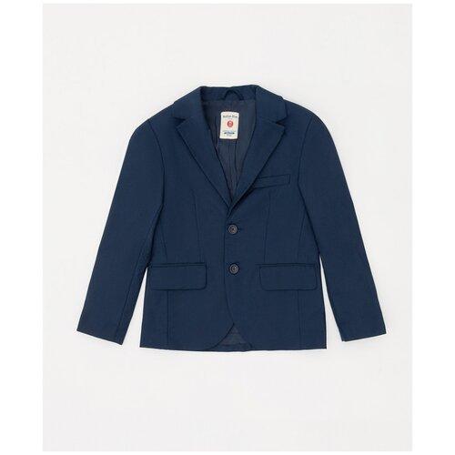 Купить Пиджак Button Blue размер 134, синий, Пиджаки