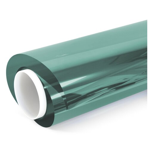 Пленка зеркальная солнцезащитная Green 15 самоклеющаяся оконная - 15х1,52 м