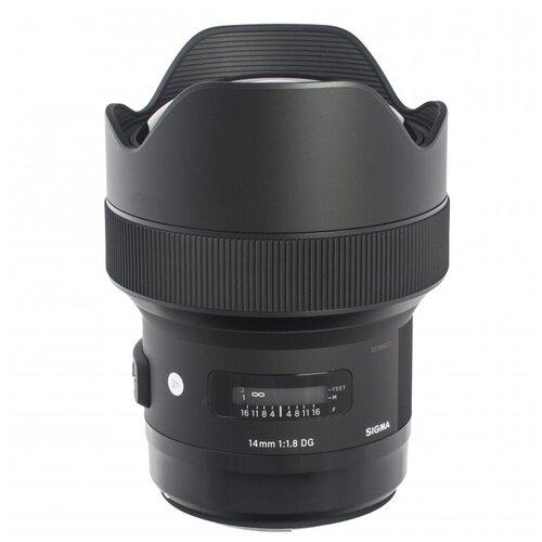 Фото - Объектив Sigma AF 14mm f/1.8 DG HSM Art L-mount черный объектив sigma 35mm f 1 4 dg dn art l mount черный