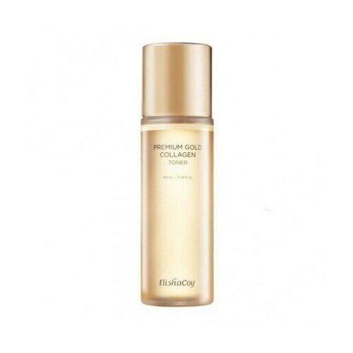 Купить ElishaCoy Premium gold collagen toner, 180мл Тонер для лица с коллагеном