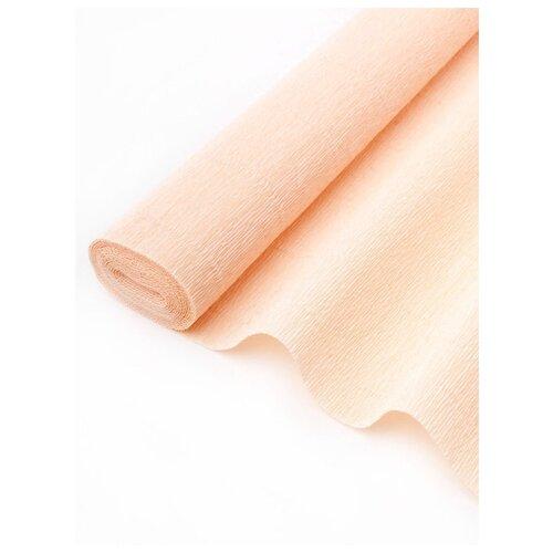 Купить Бумага гофрированная 50см х 2, 5м., 180г/м., Cartotecnica Rossi, 017 А5 персиковый, Цветная бумага и картон