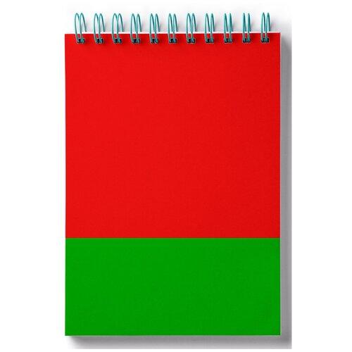 Блокнот для зарисовок, скетчбук Флаг Белоруссии