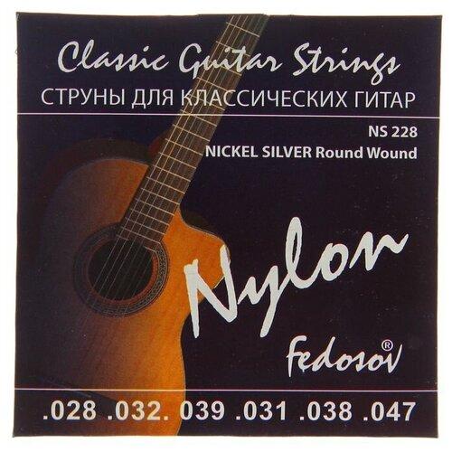 Струны NICKEL SILVER Round Wound ( .028 - .047. нейлон. навивка - мельхиор) 1453116