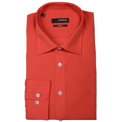 Рубашка Seidensticker размер 42 красный