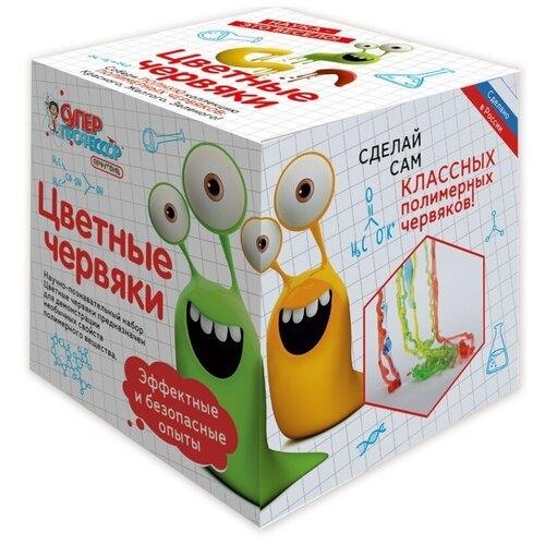 Купить Цветные червяки, Qiddycome (набор для опытов мини, серия Супер профессор), Наборы для исследований