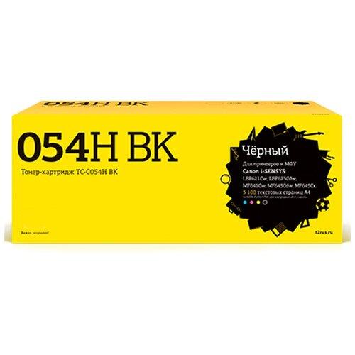 Фото - Картридж T2 TC-C054H Black для Canon i-SENSYS LBP621Cw/LBP623Cdw/MF641Cw/MF643Cdw/MF645Cx с чипом картридж t2 tc c054h m совместимый