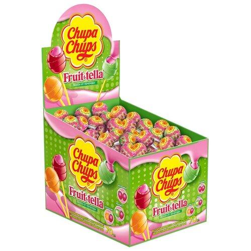карамель chupa chups xxl flavors playlist ассорти 60 шт Карамель Chupa Chups Fruittella. Макс, ассорти, 17г, дисплей, 70 шт.