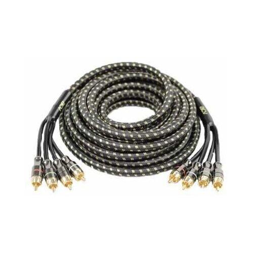 Аксессуары для автомобильной аудиотехники ACV MKG5.4 кабель RCA 5м