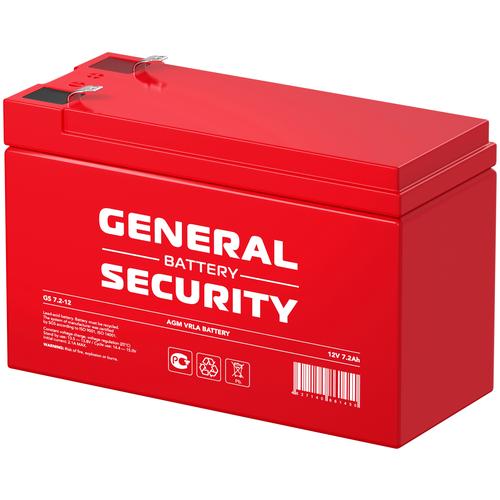 General Security Аккумулятор General Security GS 7,2-12