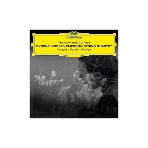 Виниловые пластинки, Deutsche Grammophon, EVGENY KISSIN, EMERSON STRING QUARTET - The New York Concert (2LP) t kuula rondo for string quartet
