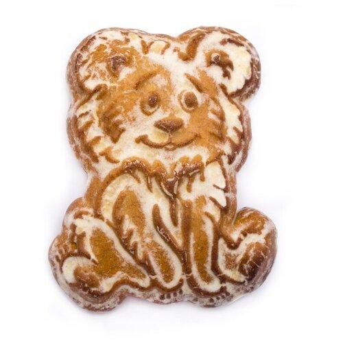 Пряник печатный Пекарня Софи Мишка с добавлением ржаной муки. Начинка Вишня 2шт. хлебников владимир хлебопечка домашняя пекарня