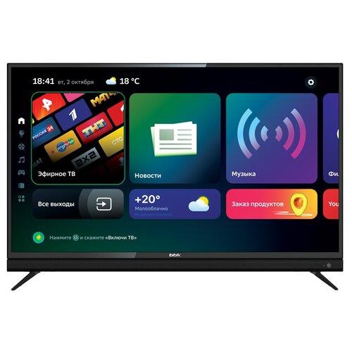Фото - Телевизор BBK 55LEX-8361/UTS2C 55, черный led телевизор bbk 43lex 8361 uts2c черный