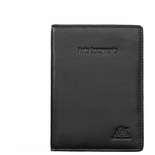 Бумажник водителя A&M в фирменной подарочной коробке, 100% натуральная кожа, 2145BL