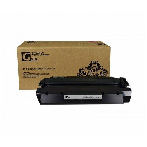 Фото - Картридж GalaPrint Q2613X/Q2624X/C7115X/EP-25 (№13X) Black (черный), для лазерного принтера, совместимый ep 30 black