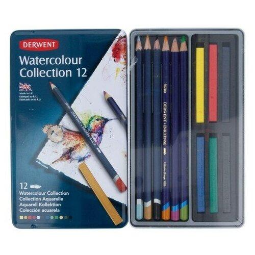 Купить Derwent Набор для акварели Watercolour Collection 12 цв12 шт0700303 1 шт., Цветные карандаши