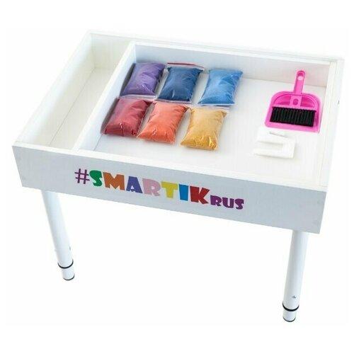 Купить Световая песочница SMARTIK с открытым пеналом, Смартик, Парты и столы