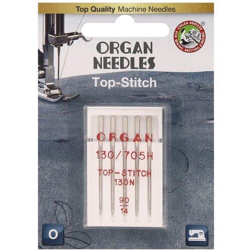 ORGAN иглы TOP STITCH 5/90 Blister