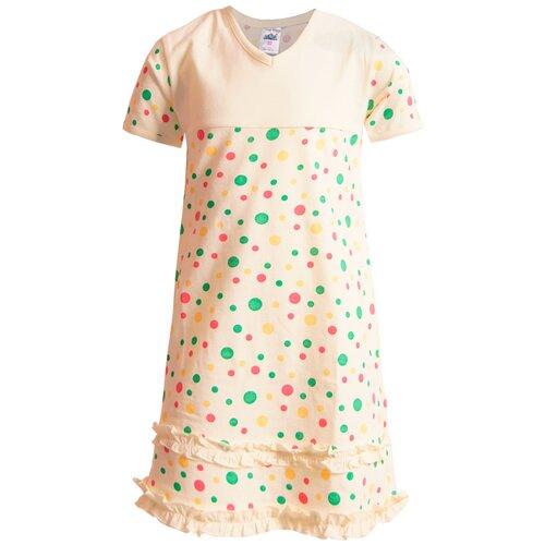 Купить Сорочка N.O.A. размер 116 (34), бежевый, Домашняя одежда