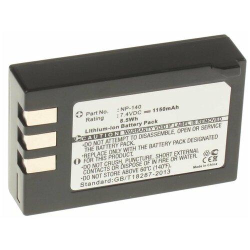 Фото - Аккумулятор iBatt iB-U1-F149 1150mAh для FujiFilm FinePix S200EXR, FinePix S100FS, FinePix S100FD аккумуляторная батарея для фото видеокамер fujifilm finepix hs30 hs33exr x pro 1 np w126 7 4v 1020mah