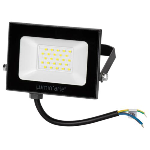 Прожектор светодиодный уличный Luminarte 20 Вт 5700K IP65 холодный белый свет