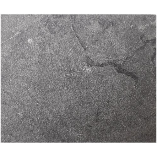 EVITA/Стол обеденный Логан тёмно серый FC19 ,ноги чёрные, раздвижной 140*80/ стол для кухни/стол в столовую/ стол обеденный раздвижной/стол серый/ стол на металлических ногах