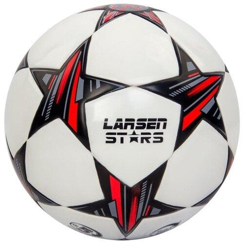 Футбольный мяч Larsen Stars черно-белый 5 мяч баскетбольный larsen all stars