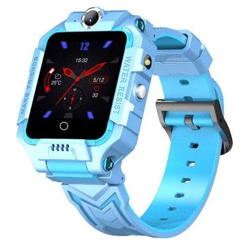 Детские умные часы Smart Baby Watch X3, голубой часы smart baby watch q80 голубой