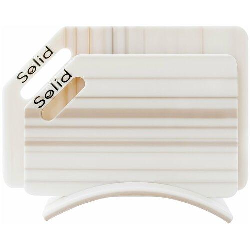 Разделочные доски Solid, набор Лайн набор 4 гибкие разделочные доски stoneline