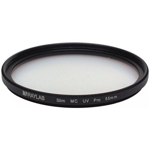 Фото - Фильтр защитный ультрафиолетовый RayLab UV MC Slim Pro 55mm защитный фильтр kenko 55s mc protector slim 55mm