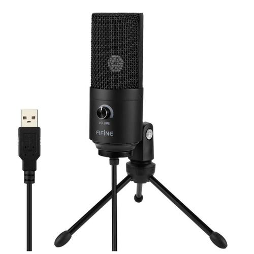 Конденсаторный микрофон Fifine K669B USB
