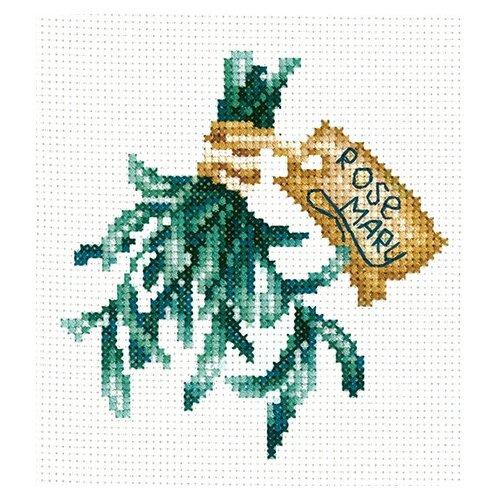 Набор для вышивания сделай своими руками П-51 Пряные травы. Розмарин 9х14 см набор для вышивания сделай своими руками п 09 поварёнок