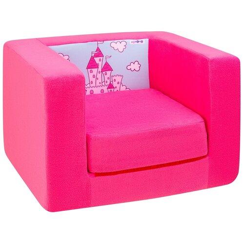 Фото - Раскладное детское кресло Paremo бескаркасное, мягкое, Дрими, цвет Роуз (PCR320-76) раскладное детское кресло paremo бескаркасное мягкое дрими крошка перси pcr320 50
