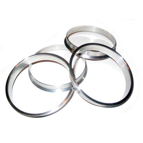 Центровочные кольца на колесные диски 65.1-63.4, поликарбонат, 4 шт.