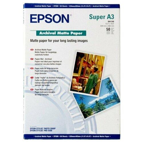 Фото - Бумага Epson Archival Matter Paper (C13S041340) epson бумага epson water resistant matte canvas 44 x 12 2м c13s042016