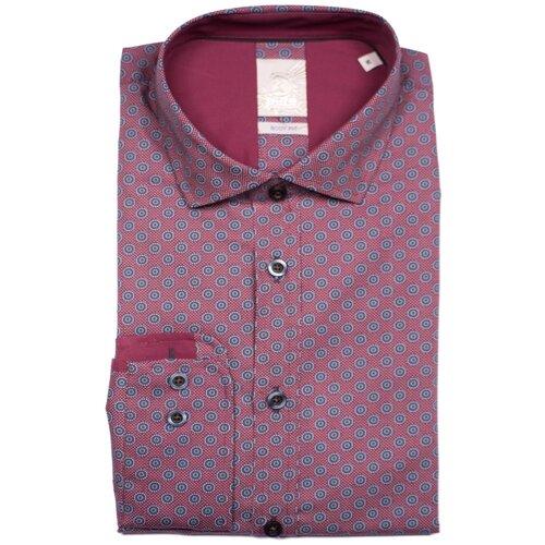 Рубашка pure размер S вишневый