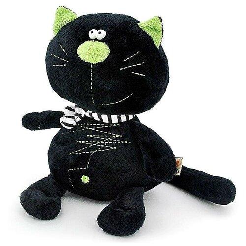 Мягкая игрушка «Кот Батон», цвет чёрный, 30 см