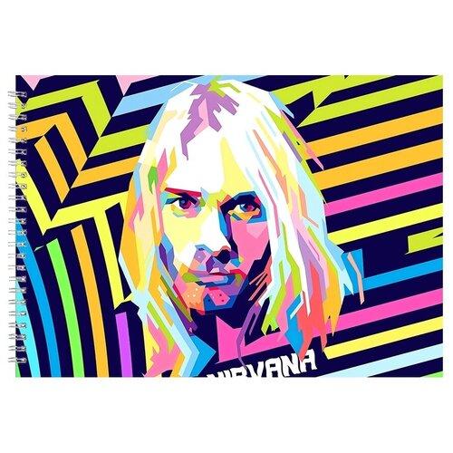 Альбом для рисования, скетчбук Nirvana Pop Art