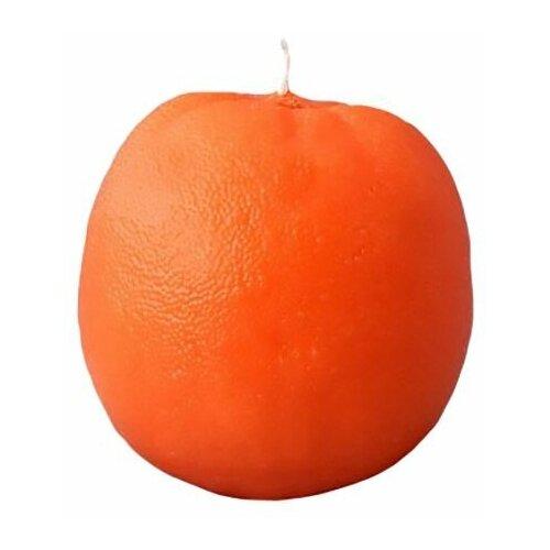Свеча ароматизированная фигурная апельсин, 7.5х7.5 см, Омский Свечной 9171-свеча