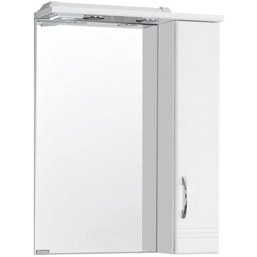 Зеркало со шкафом Акватон Онда 1A009802ON01R Белое R Зеркало со шкафом Акватон Онда 1A009802ON01R Бе