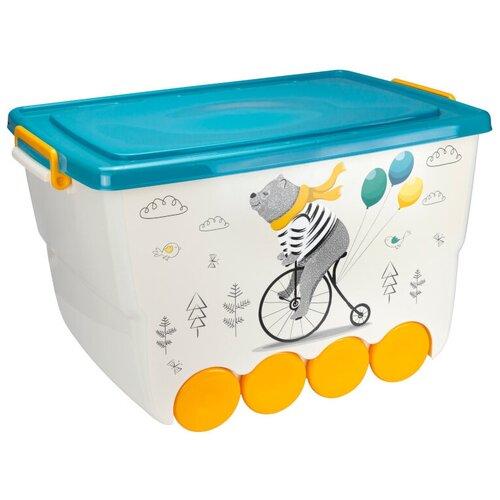 Ящик для игрушек окто 50 л Медведь