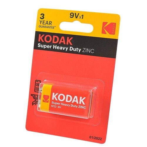 Фото - Kodak Батарейка Kodak Extra Heavy Duty 6F22 батарейка kodak r20 extra heavy duty kdhz 24 144 6912