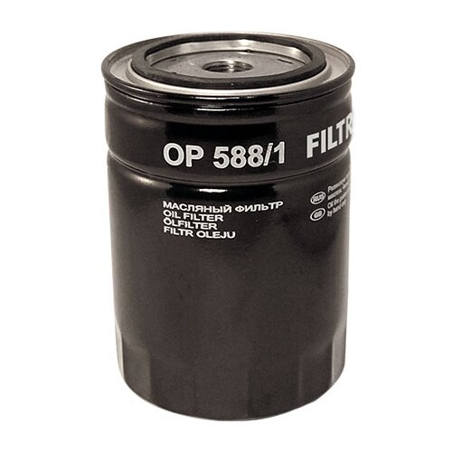 Масляный фильтр FILTRON OP 588/1 фильтр масляный filtron op 592 1