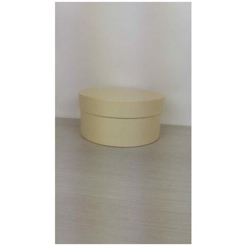 Коробка подарочная круглая 20 х 10 см, светло-желтая, для цветов и подарков. коробка фирменная для упаковки подарков с кофе 25 х 27 х 10 5 см