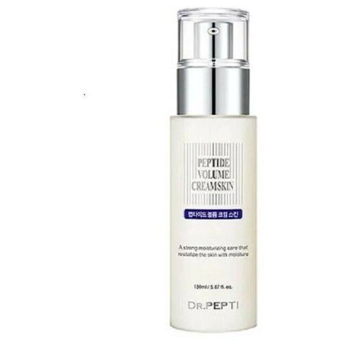 Молочко для лица для увлажнения и ревитализации кожи Peptide Volume Cream Skin, 150 мл.