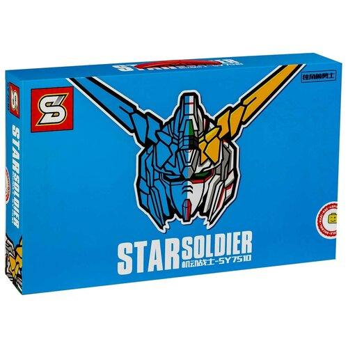 Конструктор SY 7510 Трансформеры — «Бюст Gundam Unicorn», из серии Роботы, Креатор